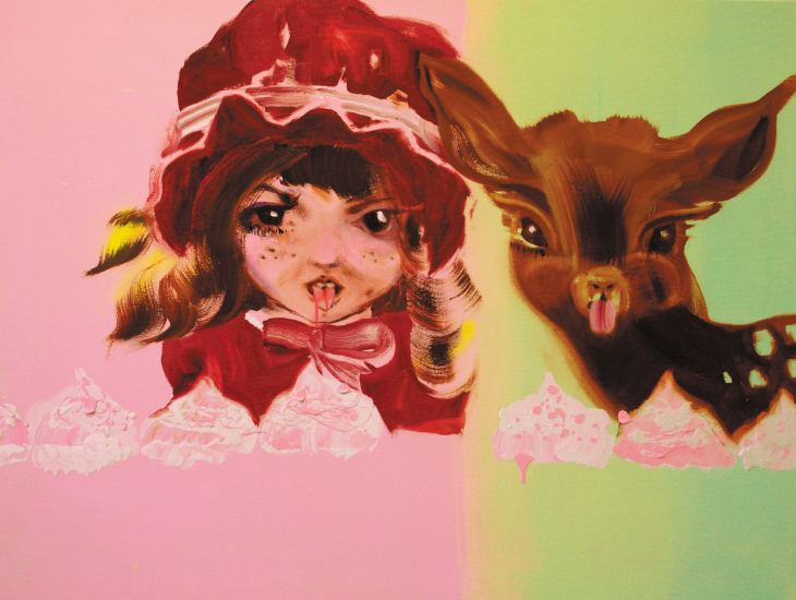 Katja Tukiainen, Strawberry Bomb, 2009